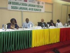 conf de presse pacte environnemental au Mali