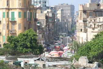 La ville d'Alexandrie en Egypte