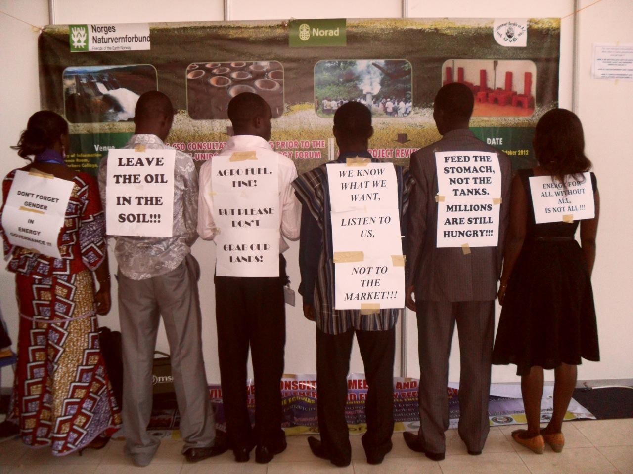 Mobilisation pour la justice climatique